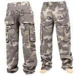 Mens Heavy weight Fatigue Army combat Desert Pants/Trousers