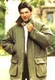 Mens 100% Yorkshire Wool Keepers Derby Tweed Quilted Heavy Weight Country Jacket